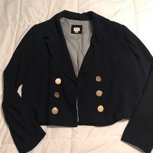 A New Day XL Navy blue cropped blazer